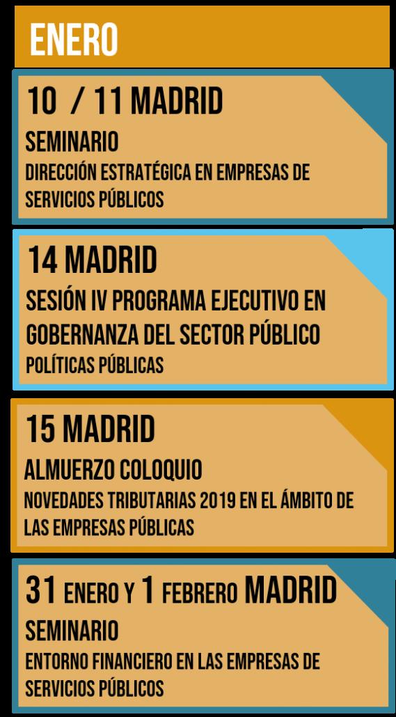 Calendario Financiero 2019.Reserva La Fecha Calendario De Encuentros Primer Trimestre